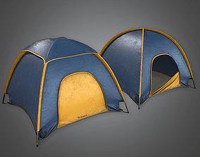 3D asset CAM - Tent 01 - PBR Game Ready