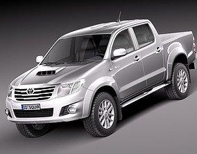 3D Toyota Hilux 2012 Double Cab