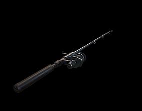 Fishing Rod 3D asset VR / AR ready