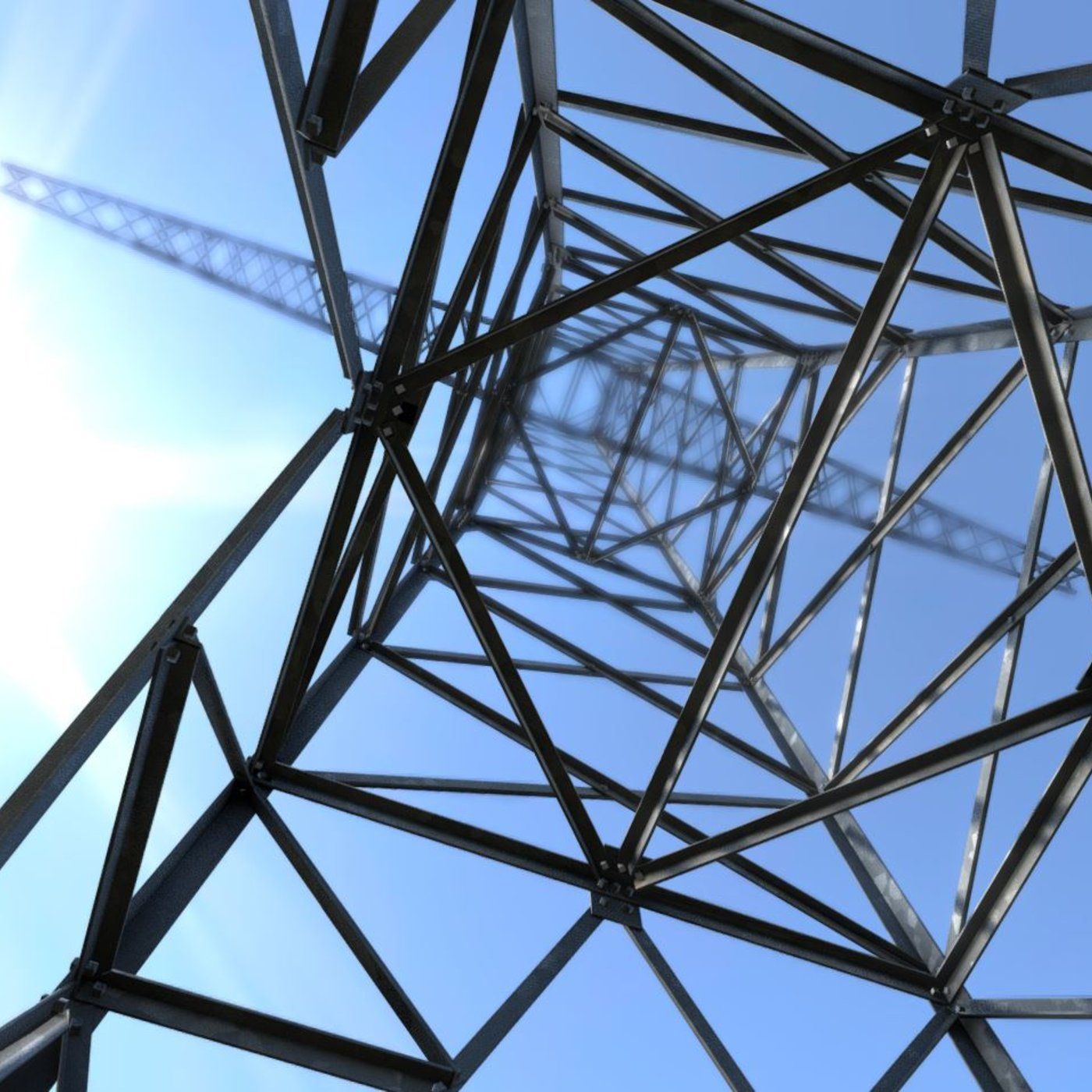Transmission Tower 18 Meters