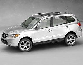 3D model suv Hyundai SantaFe 2006