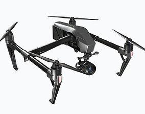 Drone - Dji Inspire 2 3D model
