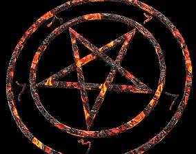 3D Devil Pentagrams