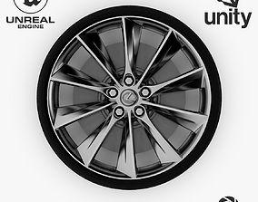 3D asset Wheel Steel-Chrome Alloy Rim 5