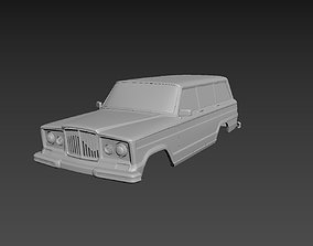 3D printable model Jeep Grand Wagoneer 1963 Body For Print