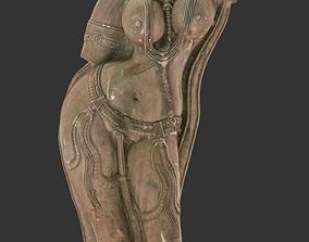Yakshini Sculpture 3D model