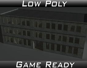 3D model Derelict Building 1