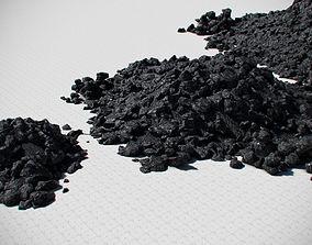 Coal Model Pack - Black Brown Anthracite realtime