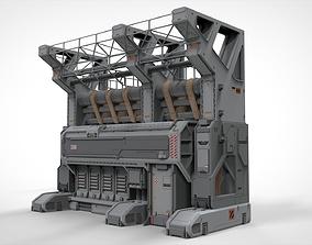 3D model Sci Fi Modular Environment 3