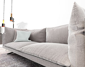 3D Oslo sofa living area