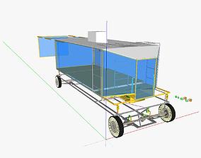 3D model AT minivan compressed air motor version