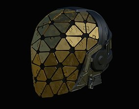 Helmet from Deus Ex Mankind Divided for 3D-printing