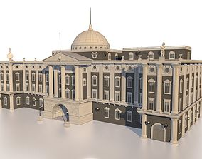 Neoclassical palace 3D