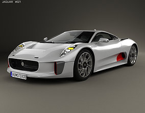 3D model Jaguar C-X75 2013