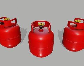 Propane Tank 3D asset VR / AR ready