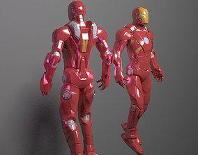 Iron Man 3D model iron-man