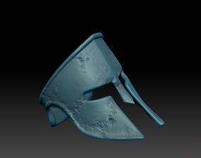 3D print model Spartan Helmet Mask Ring