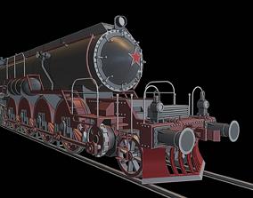 FD55 locomotive 3D printable model
