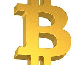 Bitcoin Symbol 01 3D