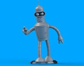 Bender Printable 3dtoy 3D