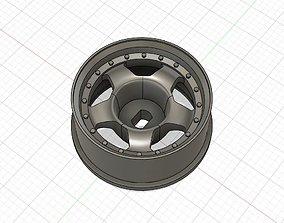 WORK MEISTER style 20mm Mini-Z wheels 3 3D print model