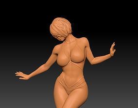 Striptease Girl 3D printable model