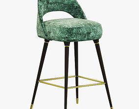 3D model Essential Home Collins Bar Chair