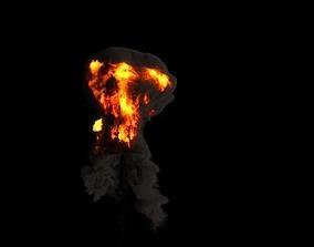 Explosion TurbulenceFD 3D model