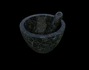 Mortar and Pestle Set 3D model