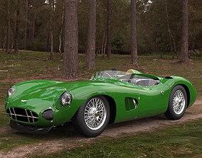 3D model Aston Martin Racing DBR1 Vintage car aston