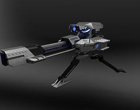 Plasma turret 3D model