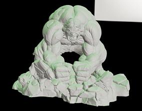 Hulk Diorama 3D printable model