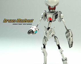 Robot Design 3D model