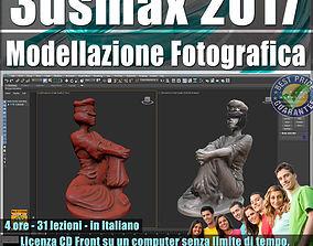 050 3ds max 2017 Modellazione Fotografica vol 50 CD