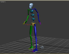 100 Looping Motion Capture Files 3D