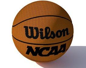 wilson basketball 3D asset