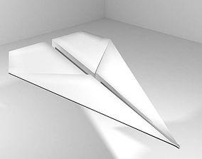 Origami - Plane 3D