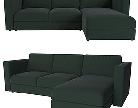 3D model ikea vimle 3 seat sectional