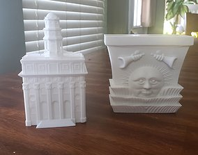 Nauvoo Temple LDS Temple Model for 3D Printing Digital 1