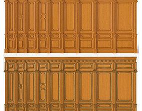 Wooden panels 03 06 3D