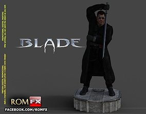Blade Vampire Hunter - 3D Printable Figure