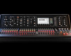 Midas m32 - Digital mixing console 3D