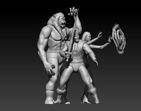 Thundaar The Barbarian 3D print model