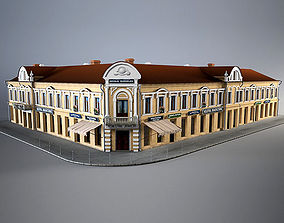town 3D model Old Corner House