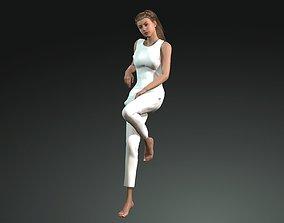 Woman Cloth Model 3D asset