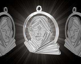3D print model Jesus Pendant
