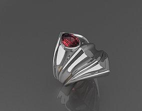 Silver elven ring 3D print model