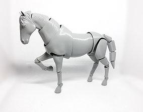 3D print model Horse action figure art
