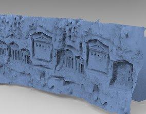 3D model Greek Cave wall