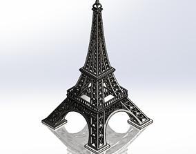 architecture 3D print model Eiffel tower